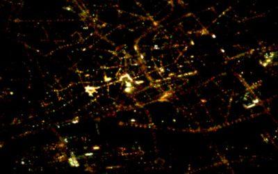 Carte de luminosité de Nantes
