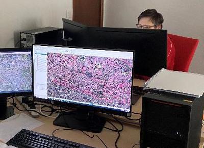 Photo-interprétation d'images spatiales réalisée par des intégrants de Digitanie