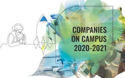 """La TeleScop parmi les """"Companies on Campus"""" auprès d'EspaceDEV"""
